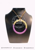Lacquer Horn Necklace (39)